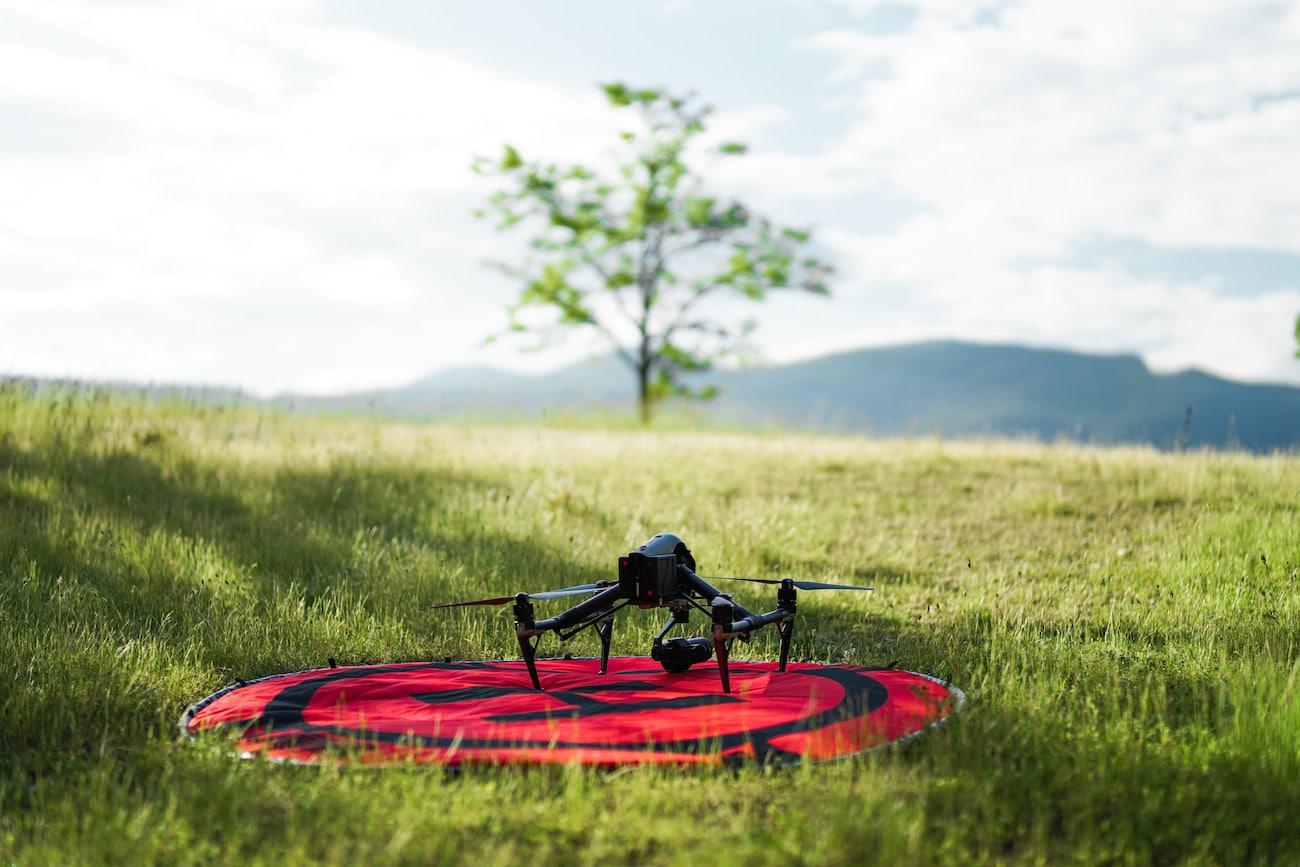 production audiovisuelle drone
